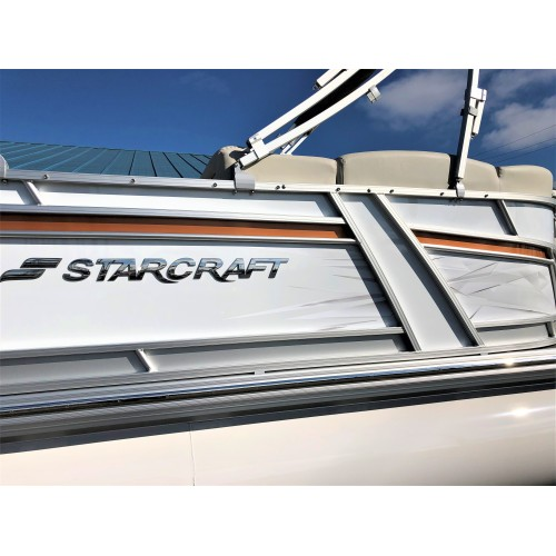 2019 SLS 3 DC by StarCraft Marine (White/Orange)